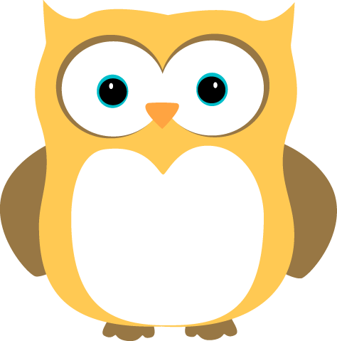 owl yellow brown